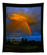 Rainbow In The Cloud Tapestry