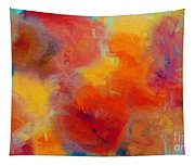 Rainbow Passion - Abstract - Digital Painting Tapestry