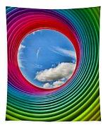 Rainbow Sky Tapestry
