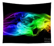 Rainbow Smoke Tapestry