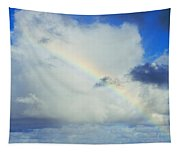 Rainbow Through The Clouds, Oahu Tapestry