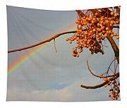 Rainbow Through Tree Tapestry