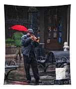 Rainy Day Blues New Orleans Tapestry