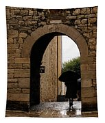 Rainy Day In Provence France Tapestry