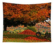 Raking's All Done... Tapestry
