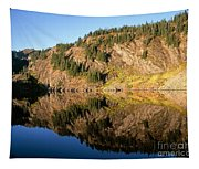 Rampart Ridge In Rachael Lake Tapestry