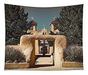 Ranchos Gate In Gum Bichromate Tapestry