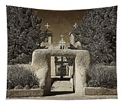 Ranchos Gate On Rice Paper Tapestry