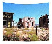 Random View In Utah Tapestry