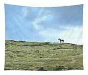 Rapa Nui Horse Tapestry