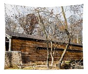 Rapps Dam Covered Bridge Tapestry