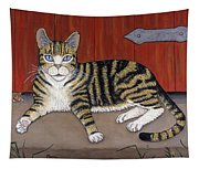 Rascal The Cat Tapestry