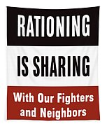 Rationing Is Sharing - Ww2 Tapestry