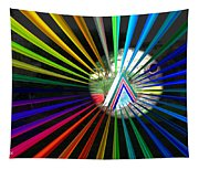 Rays To Triangle Tapestry