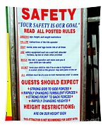 Read All Posted Rules Tapestry