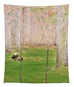 Ready To Take A Swing Tapestry