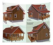 Realm Gallery Cabin Designs Tapestry