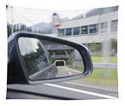 Rearview Mirror Tapestry