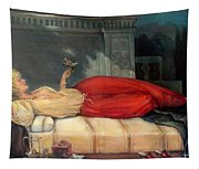 Reclining Woman Tapestry