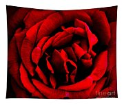 Red And Black Layers Tapestry