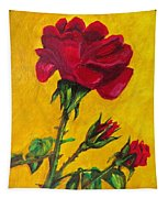 Red And Small Tapestry