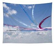 Red Arrows Aerobatic Display Team Tapestry