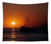 Red At Night Sailor's Delight Tapestry