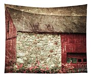 Red Barn Enhanced Tapestry