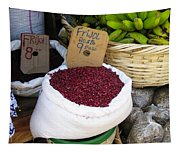 Red Beans At Nicaragua Market Tapestry