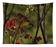 Red Berries Tapestry