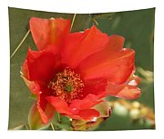 Red Bloom Tapestry