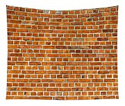 Red Brick Wall Texture Tapestry