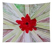 Red Brilliance Tapestry