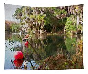 Red Buoys Tapestry