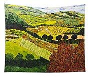 Red Bush Tapestry