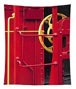 Red Caboose Tapestry