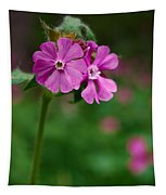 Red Campion Tapestry
