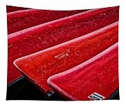 Red Canoes Tapestry