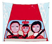 Red Car Tapestry