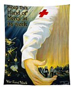 Red Cross Poster, 1918 Tapestry