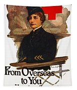 Red Cross Poster, C1919 Tapestry
