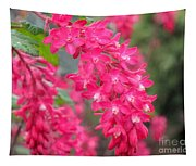 Red-flowering Currant Blossom Tapestry