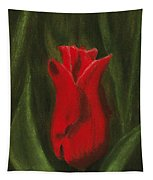 Red Elegance Tapestry