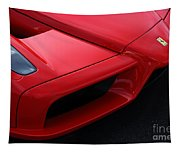 Red Enzo Tapestry