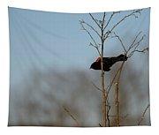 Red Epaulets Tapestry
