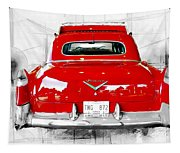 Red Fleetwood Tapestry
