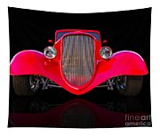 Red Hot Rod Tapestry