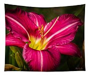 Red Magic Daylily Tapestry