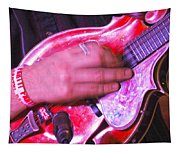 Red Mandolin Tapestry