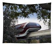 Red Monorail Disneyland 01 Tapestry